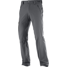 Salomon Wayfarer Straight Broek Heren, forged iron